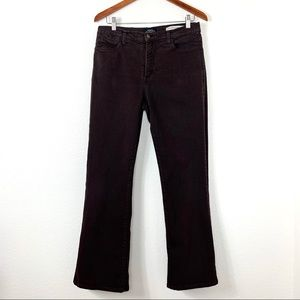 NYDJ Boot Cut High Rise Jeans Brown Size 12